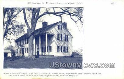 Oliver Ellsworth Home - Misc, Connecticut CT Postcard