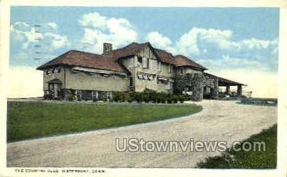 Country Club - Waterbury, Connecticut CT Postcard