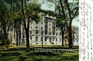 Elton Hotel - Waterbury, Connecticut CT Postcard