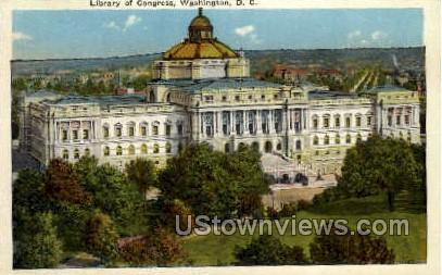 Library of Congress - District Of Columbia Postcards, District of Columbia DC Postcard