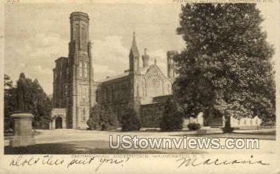 The Smithsonian Institution - District Of Columbia Postcards, District of Columbia DC Postcard