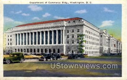 Department of Commerce Building - District Of Columbia Postcards, District of Columbia DC Postcard