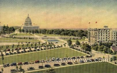 Hotel Continental - District Of Columbia Postcards, District of Columbia DC Postcard