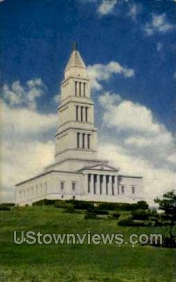 Washington Masonic National Memorial - District Of Columbia Postcards, District of Columbia DC Postcard