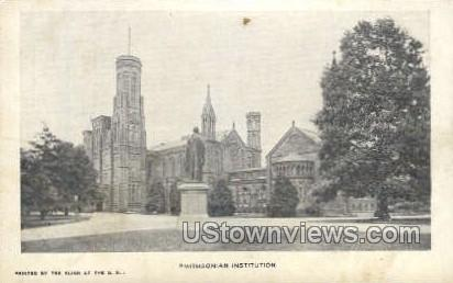 Smithsonian Institution - District Of Columbia Postcards, District of Columbia DC Postcard
