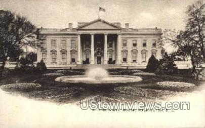 White House - District Of Columbia Postcards, District of Columbia DC Postcard