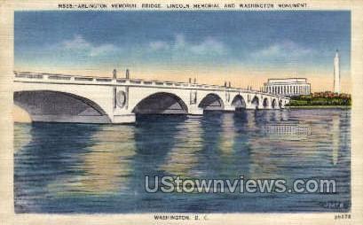 Washington Monument - District Of Columbia Postcards, District of Columbia DC Postcard