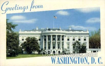 Greetings from Washington D.C. - District Of Columbia Postcards, District of Columbia DC Postcard