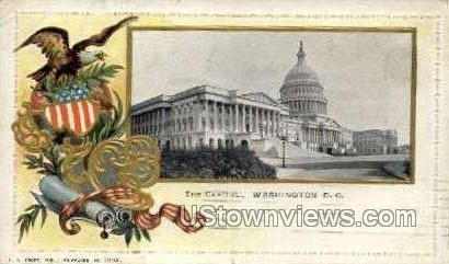 The Capitol - District Of Columbia Postcards, District of Columbia DC Postcard
