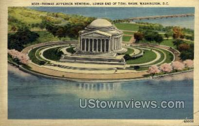 Thomas Jefferson Memorial - District Of Columbia Postcards, District of Columbia DC Postcard