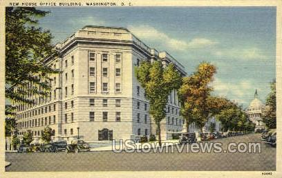New House Office Building - District Of Columbia Postcards, District of Columbia DC Postcard