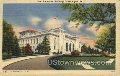 Pan-American Union - District Of Columbia Postcards, District of Columbia DC Postcard