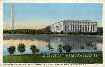 New Bureau of Printing and Engraving - District Of Columbia Postcards, District of Columbia DC Postcard