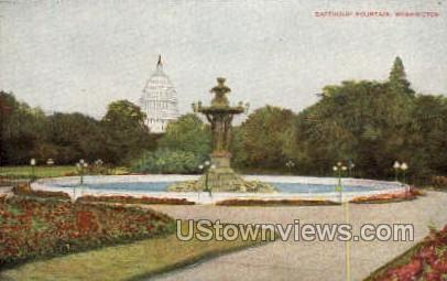 Bartholdi Fountain - District Of Columbia Postcards, District of Columbia DC Postcard