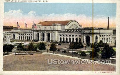 New Union Station - District Of Columbia Postcards, District of Columbia DC Postcard