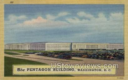 The Pentagon Building - District Of Columbia Postcards, District of Columbia DC Postcard