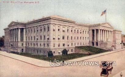 Patent Office - District Of Columbia Postcards, District of Columbia DC Postcard