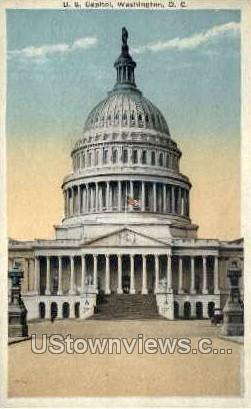 U.S. Capitol - District Of Columbia Postcards, District of Columbia DC Postcard