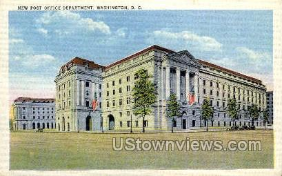 New Post Office Department - District Of Columbia Postcards, District of Columbia DC Postcard