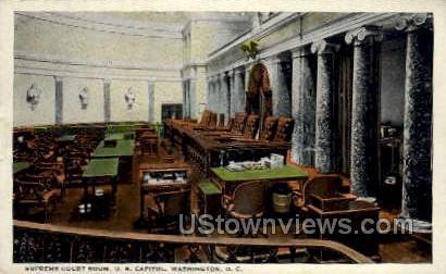 Supreme Court Room - District Of Columbia Postcards, District of Columbia DC Postcard