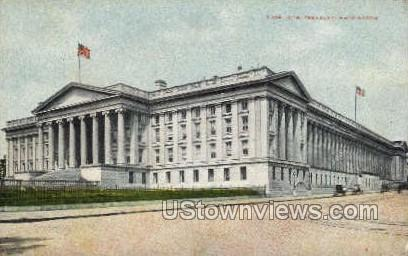 U.S. Treasury - District Of Columbia Postcards, District of Columbia DC Postcard
