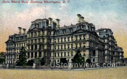 U.S. War, State, and Navy Department - District Of Columbia Postcards, District of Columbia DC Postcard