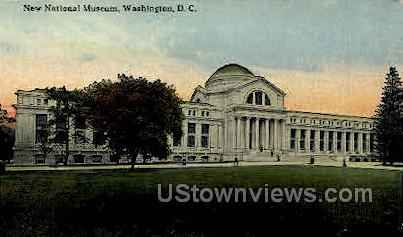New National Museum - District Of Columbia Postcards, District of Columbia DC Postcard