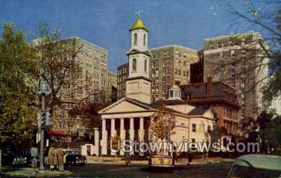 St. John's Church - District Of Columbia Postcards, District of Columbia DC Postcard
