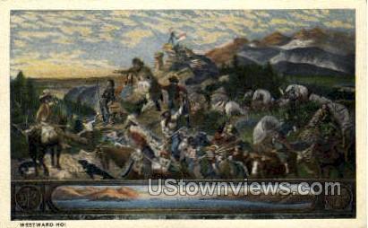 Westward Ho! - District Of Columbia Postcards, District of Columbia DC Postcard