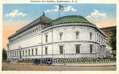 Corcoran Gallery of Art - District Of Columbia Postcards, District of Columbia DC Postcard