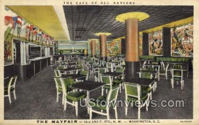 The Mayfair - District Of Columbia Postcards, District of Columbia DC Postcard