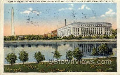 Bureau of Printing & Engraving - District Of Columbia Postcards, District of Columbia DC Postcard