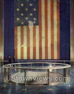 The Original Star Spangled Banner - District Of Columbia Postcards, District of Columbia DC Postcard