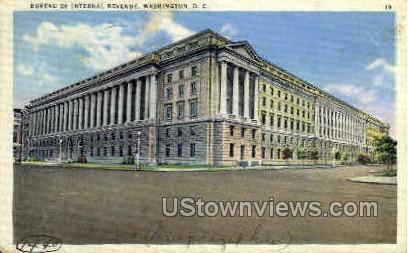 Bureau of Internal Revenue - District Of Columbia Postcards, District of Columbia DC Postcard