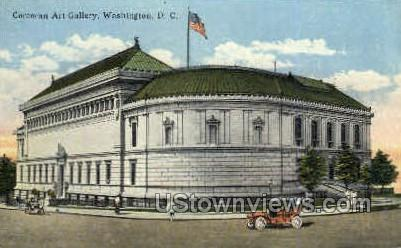 Corcoran Art Gallery - District Of Columbia Postcards, District of Columbia DC Postcard