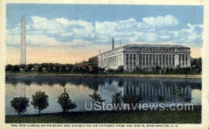 Bureau of Printing - District Of Columbia Postcards, District of Columbia DC Postcard