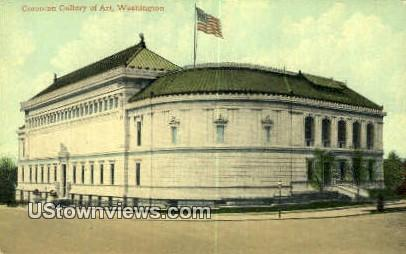 Corcoran Gallery of Arts - District Of Columbia Postcards, District of Columbia DC Postcard