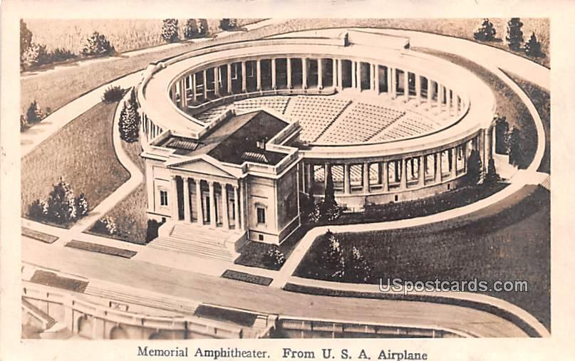 Memorial Amphitheater - Washington, District of Columbia DC Postcard