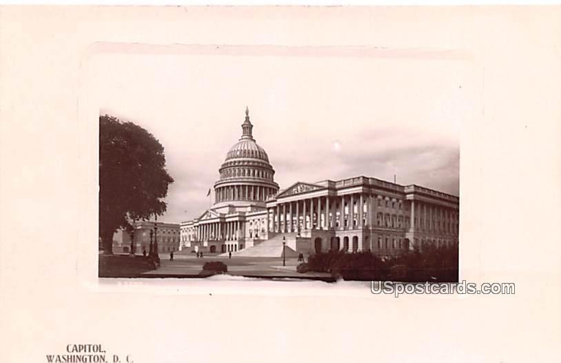 Capitol - Washington, District of Columbia DC Postcard
