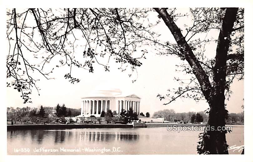 Jefferson Memorial - Washington, District of Columbia DC Postcard