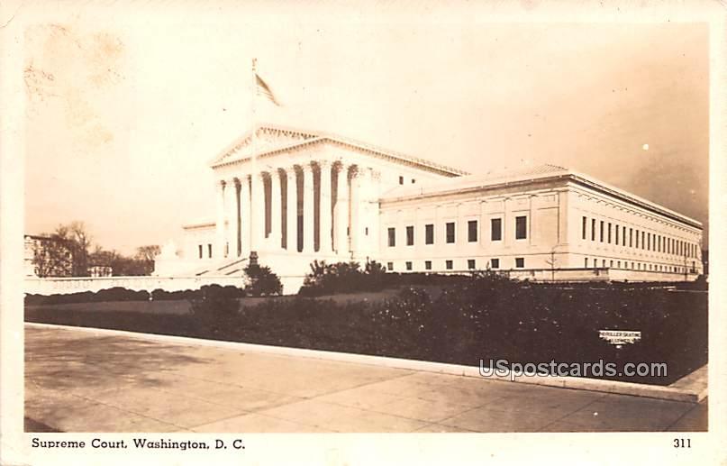 Supreme Court - Washington, District of Columbia DC Postcard