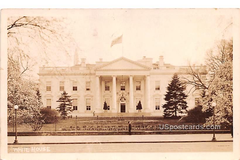 White House - Washington, District of Columbia DC Postcard