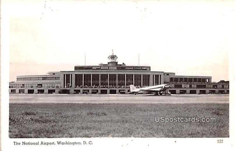 National Airport - Washington, District of Columbia DC Postcard
