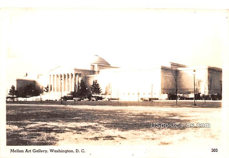 Mellon Art Gallery - Washington, District of Columbia DC Postcard
