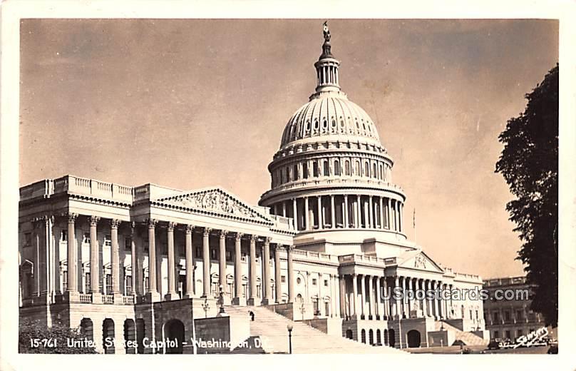 United States Capitol - Washington, District of Columbia DC Postcard