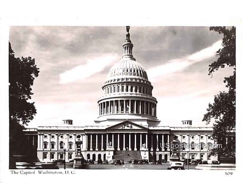 The Capitol - Washington, District of Columbia DC Postcard