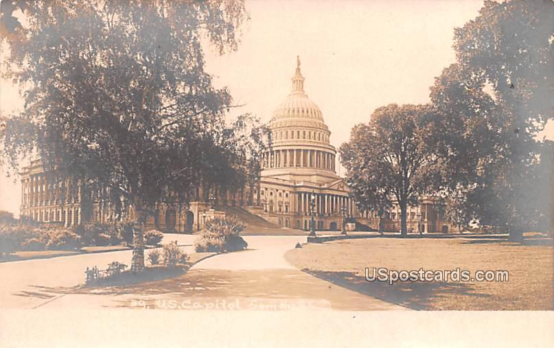 US Capitol - Washington, District of Columbia DC Postcard