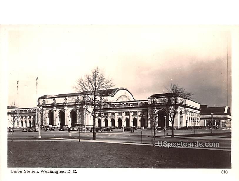 Union Station - Washington, District of Columbia DC Postcard