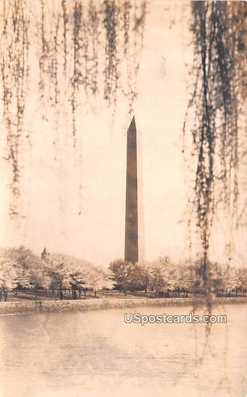 Washington Monument - District of Columbia DC Postcard