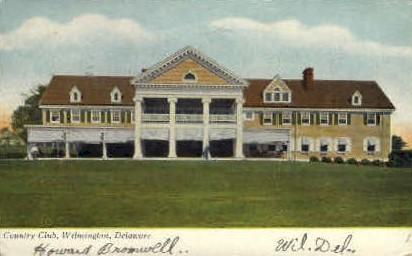 Country Club - Wilmington, Delaware DE Postcard